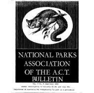 Vol 6 No 6 Jun-Jul 1969 - National Parks Association of the ACT