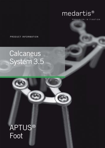 APTUS® Foot Calcaneus System 3.5
