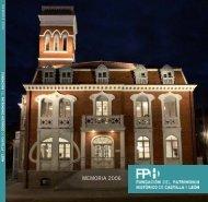 Memoria Fundacion del Patrimonio Histórico 2007 - Fundación del ...