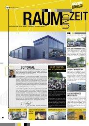 RAUM und ZEIT - Graeff Container- und Hallenbau GmbH