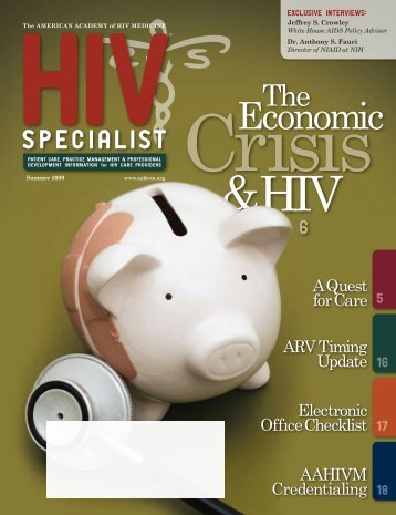 Economic - American Academy of HIV Medicine