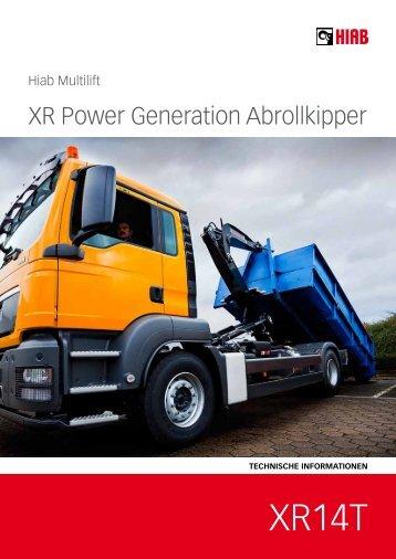 Prospekt XR 14T - HIAB Multilift Rhein-Main GmbH