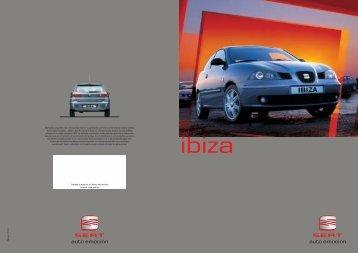 8P. IBIZA nacional 2002 + tecn. - Museo SEAT