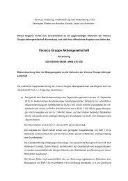 Vivanco Gruppe Aktiengesellschaft