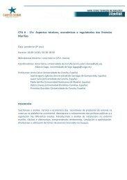 CFA 6 - 1ºc: Aspectos técnicos, económicos e ... - Campus do Mar