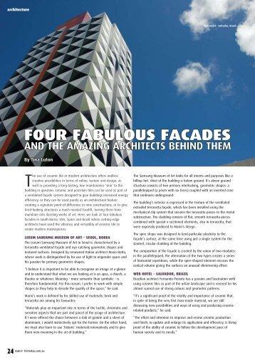Four Fabulous Facades - Infotile