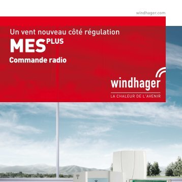 MESPLUS Commande radio - Windhager