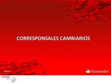 nuestros clientes visitando un corresponsal cambiario - Santander