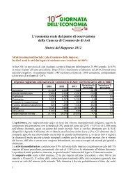 sintesi rapporto 2012