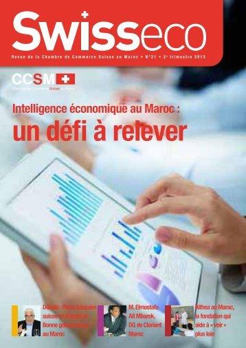 Intelligence économique au Maroc - Chambre de commerce Suisse ...