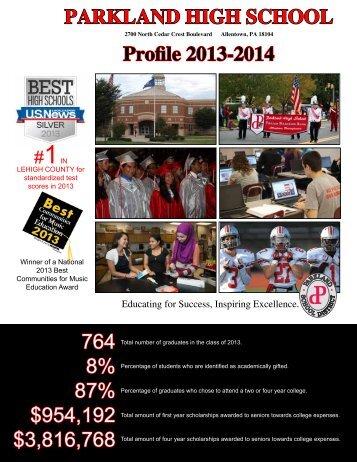 PHS Profile - Parkland School District