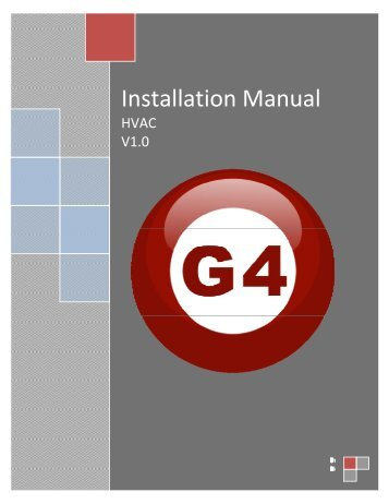 Installation Manual - Smart-Bus Home Automation