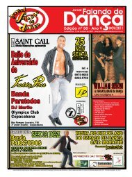 Ed. 050 - Agenda da Dança de Salão Brasileira