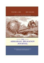 abraham zelmanov journal - The World of Mathematical Equations