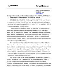 News Release - LIMA'13 - Langkawi International Maritime ...