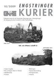 10/09 - Engstringer Kuriers