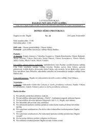 dagdas novada pašvaldība domes sēdes protokols - Dagda.lv