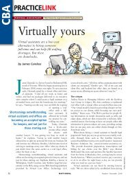 Virtually yours - Creativity in the legal practice