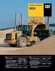 Specalog for Cargador de Ruedas 962H, ASHQ5676 - Kelly Tractor