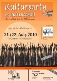 19. Juni 2011: Eidgenössisches Musikfest 2011 in St. Gallen