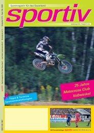 25 Jahre Motocross Club Voßwinkel - Sportiv