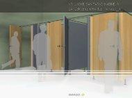 Vrhunske sanitarne kabine in garderobne omarice - Ravago
