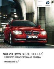 NUEVO BMW SERIE 3 COUPÉ