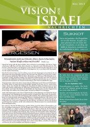 mit Bildern in Monitorqualität - 600 kByte - Vision für Israel
