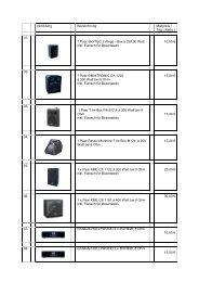 01. 1 Paar SKYTEC 2 Wege - Box à 250,00 Watt inkl. Flansch für ...