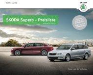 ŠKODA Superb – Preisliste - J.H. Keller AG