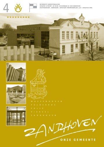 GB4 JUL-AUG 2006 - Gemeente Zandhoven