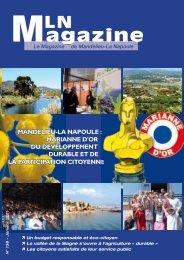 MLN Magazine - Janvier 2011 - Mandelieu La Napoule