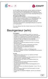 Bauingenieur (w/m)