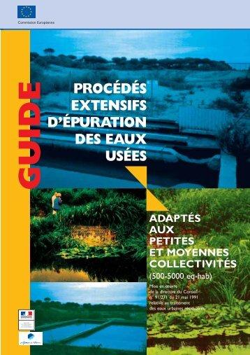 procédés extensifs d'épuration des eaux usées guide - Localiban