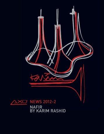 NEWS 2012-2 NAFIR BY KARIM RASHID - Axo Light