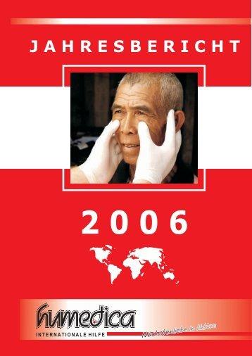 Jahresbericht 2006 - Humedica e.V.