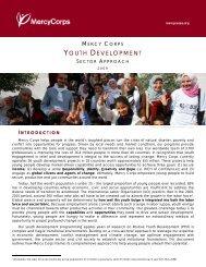 YOUTH DEVELOPMENT - Mercy Corps