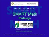 jackson state community college - National Center for Academic