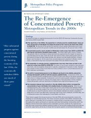 The Re-Emergence of Concentrated Poverty: - Land Use Law