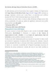Introduzione alla legge delega sul federalismo fiscale (n. 42/2009 ...