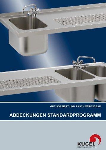 abdeckungen standardprogramm - Kugel Edelstahlverarbeitung