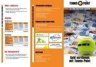 Geld verdienen mit Tennis-Point - Tennis-Point.de