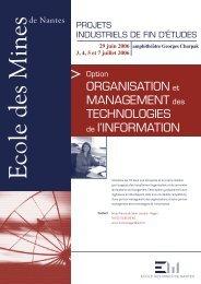 Architecture et évolution des systèmes d'information régionaux