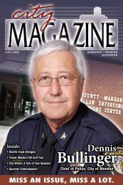 Dennis Bullinger - City Magazine