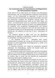 Vortrag von Herrn Prof. Dr. Böhme (Teil I) - Hans-Kilian-Preis
