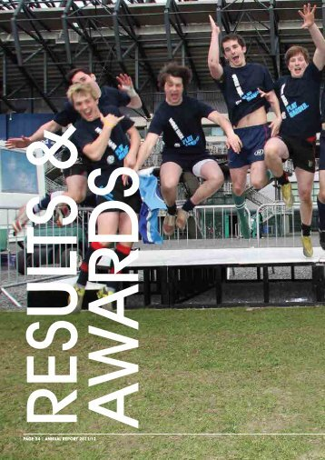 Annual report 2012 part 2 - Scottish Rugby Union