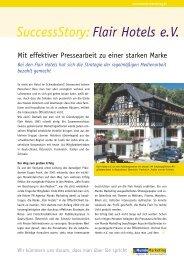 SuccessStory: Flair Hotels e.V. - Mundo Marketing GmbH