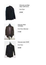 clicca qui - cappotti giacconi autunno inverno 2011 - Ingrosso ...