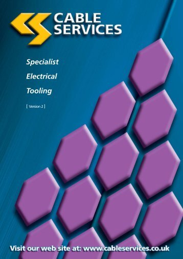 Specialist Electrical Tooling - Cable Services
