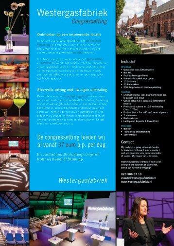 Brochure - Westergasfabriek